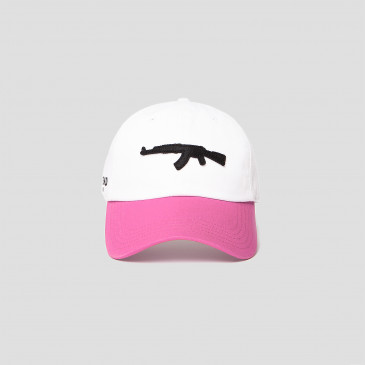Casquette COLORS CAP ROSE