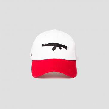 Casquette COLORS CAP ROUGE