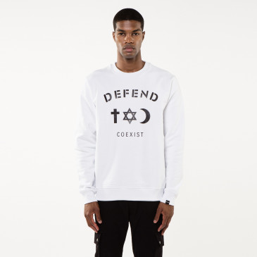 Sweatshirt CO CREW WHITE