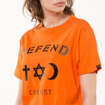 T-shirt CO TEE ORANGE