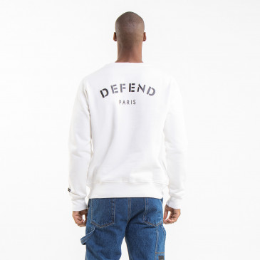 SWEATSHIRT CREW DEF OFF WHITE