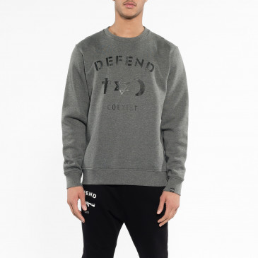 Sweatshirt CO CREW GREY