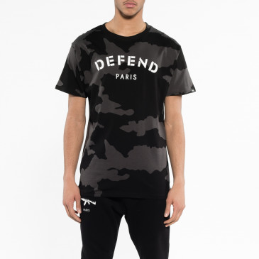 T-shirt DEFEND TEE NOIR