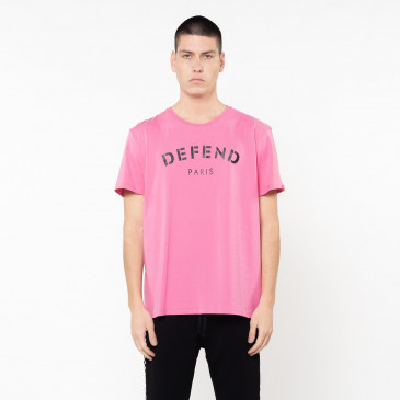 T-shirt DEFEND TEE ROSE