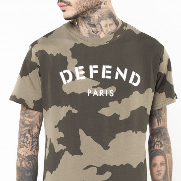 T-shirt DEFEND TEE KAKI