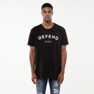 T-shirt DEFEND TEE BLACK