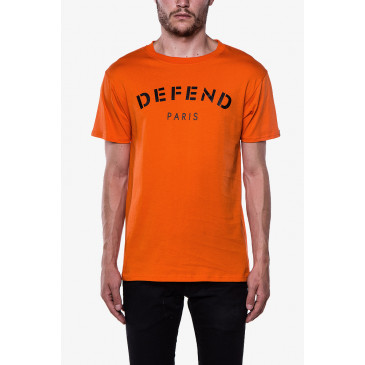 T-shirt DEFEND TEE ORANGE