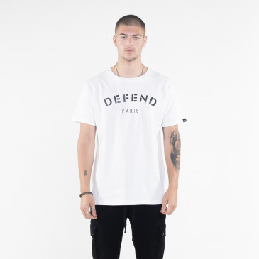 T-shirt DEFEND TEE WHITE
