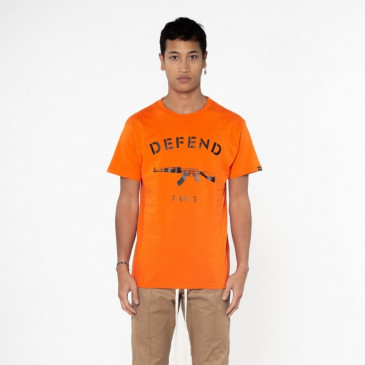 T-shirt PARIS TEE ORANGE