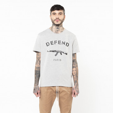 T-shirt PARIS TEE GREY
