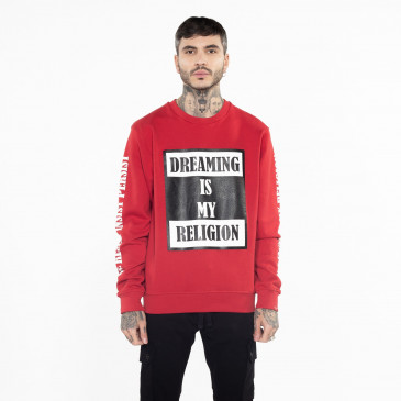Sweatshirt TO BE RED