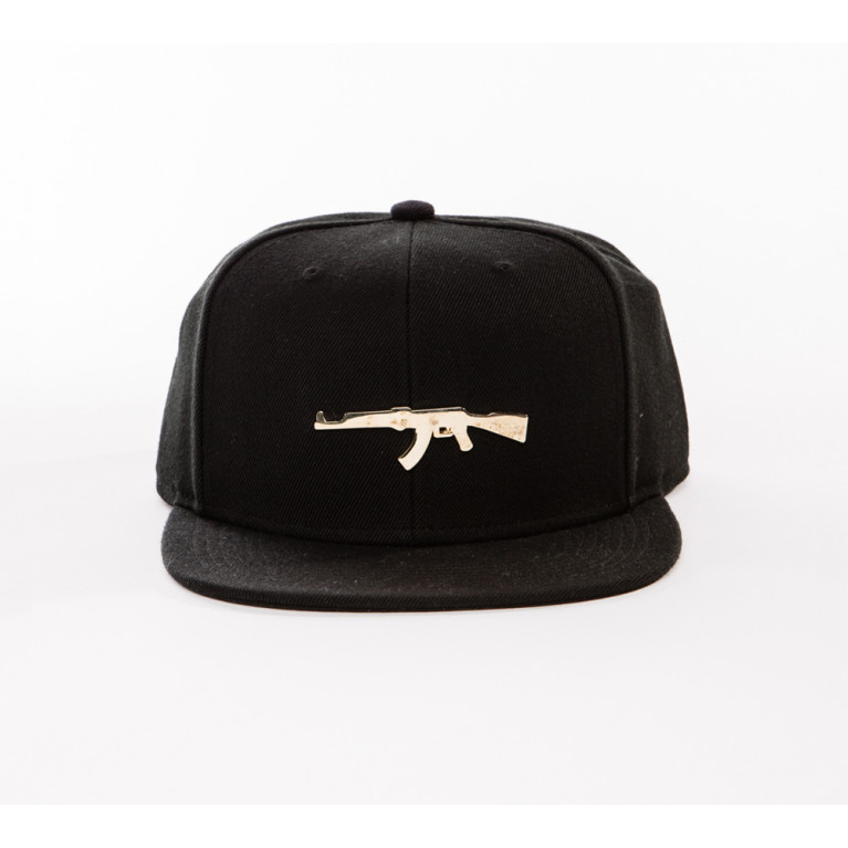 Gorra PARIS GOLD CAP NEGRA