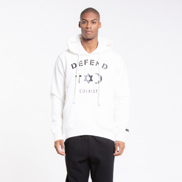 SWEATSHIRT CLASSIC CO OFF WHITE