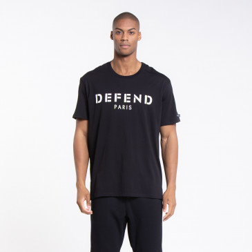 T SHIRT DEFEND EASY BLACK