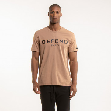 T SHIRT DEFEND EASY CARAMEL